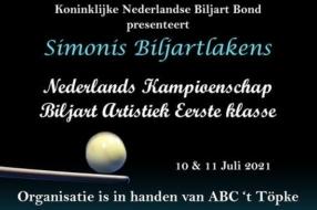 Nieuws: Biljartcentrum D'n Boerenbond gastheer NK Biljart Artistiek