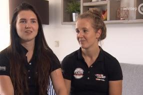Nieuws: BMX-zusjes na winst Bakoe eerst even langs bij oma in Wijche