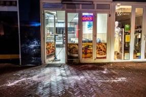 Brandaanslag bij eethuis, mysterieuze witte verf weer aangetroffen