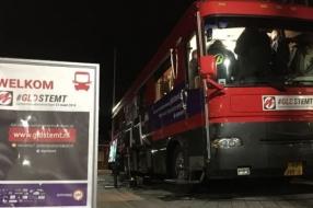 Nieuws: De verkiezingsbus staat in Malden