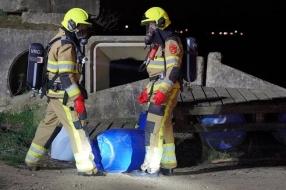 Duizend liter drugsafval gedumpt in Nederasselt