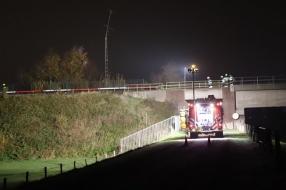 Nieuws: Geen treinen tussen Cuijk en Mook na aanrijding bij Katwijk