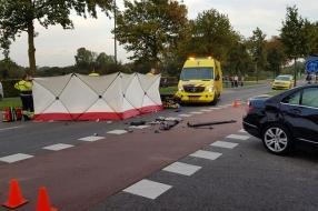 Nieuws: Motorrijder zwaargewond na botsing met auto