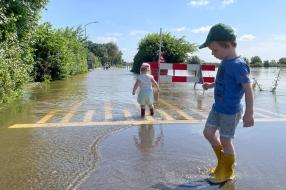 Sambeek ziet Maaswater snel stijgen, maar de zenuwen vallen mee