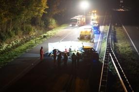 Nieuws: Twee gewonden bij ongeluk op A326